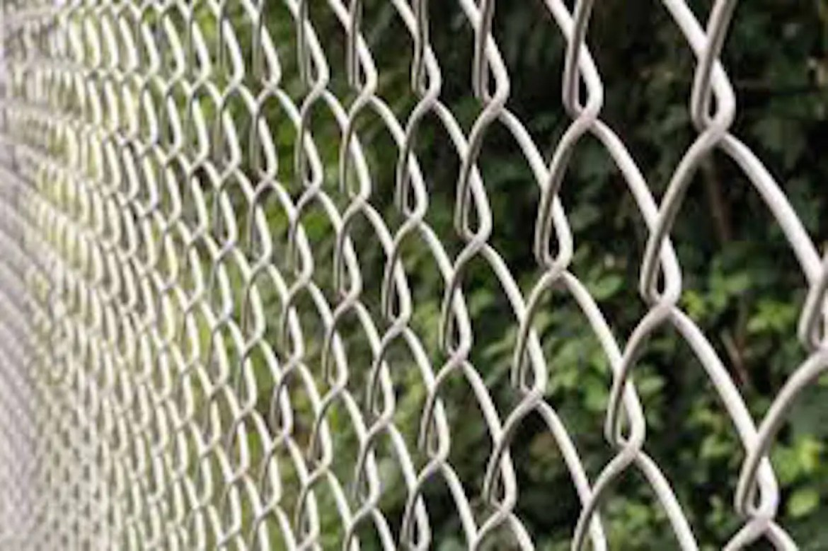 commercial fence installed in Wichita Falls