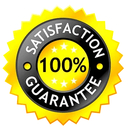 a 100% satisfaction seal of approval for fence builders Wichita Falls