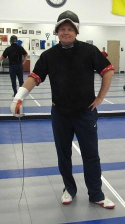 Fencing Coach Vitaliy Nazarenko