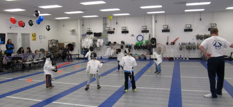 Fencing Birthday Parties Boston