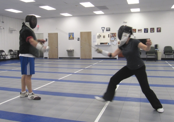Adult Fencing Lesson