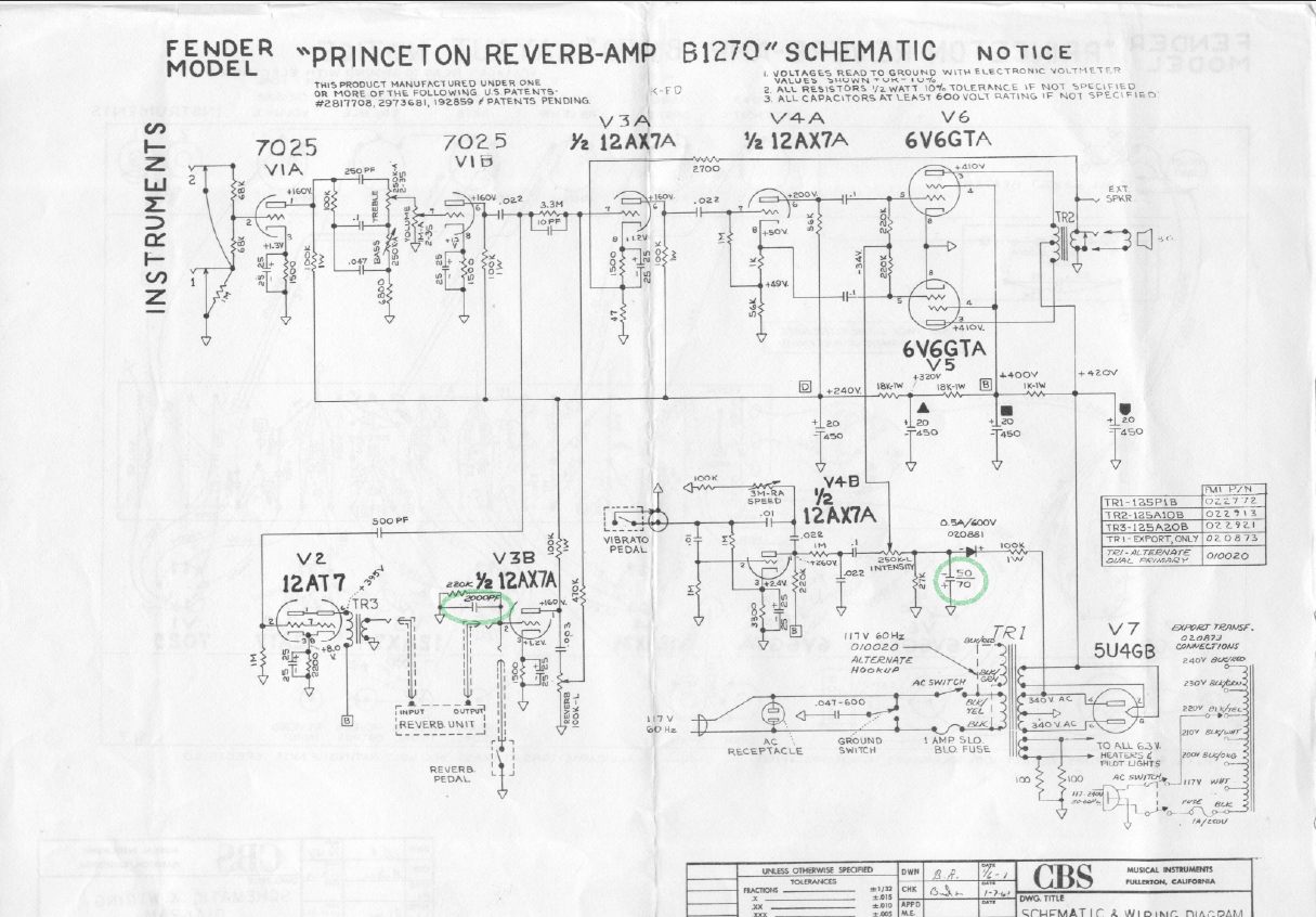 Wiring Diagram Guitar Amp Footswitch
