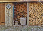 Le stockage du bois de chauffage