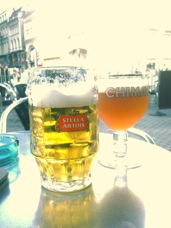 Stella Artois & Chimay Triple Blanche
