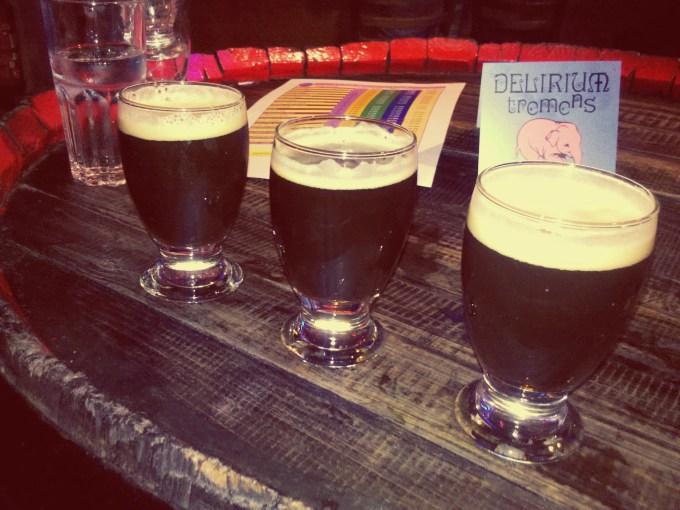 Troubadour Imperial Stout & Les 3 Fourquets Lupulus Hibernatus & Troubadour Westkust