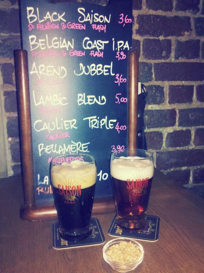 St-Feuillien Black Saison & St-Feuillien Belgian Coast IPA