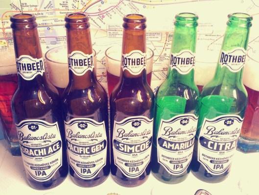 Roth Beer Bakancslista 1-5.