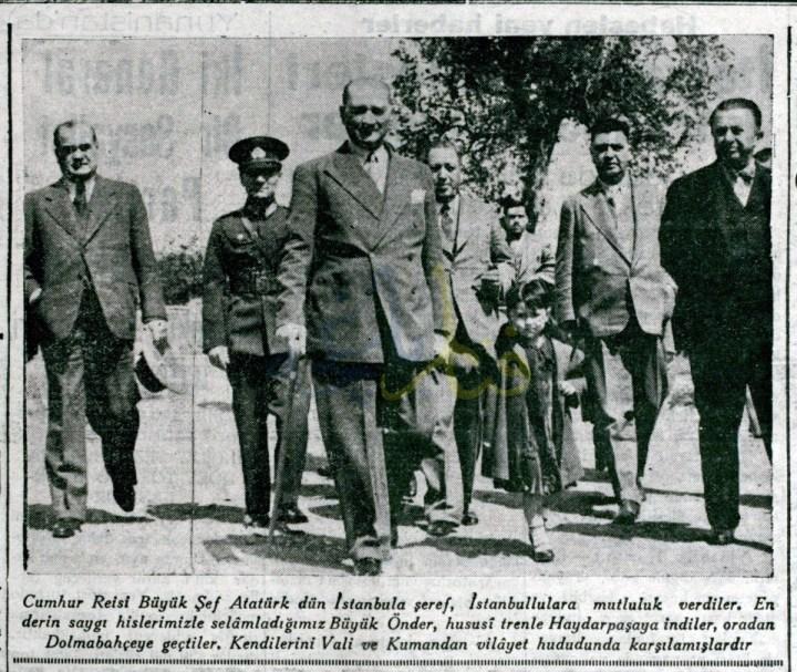 Atatürk Fenerbahçe'de…