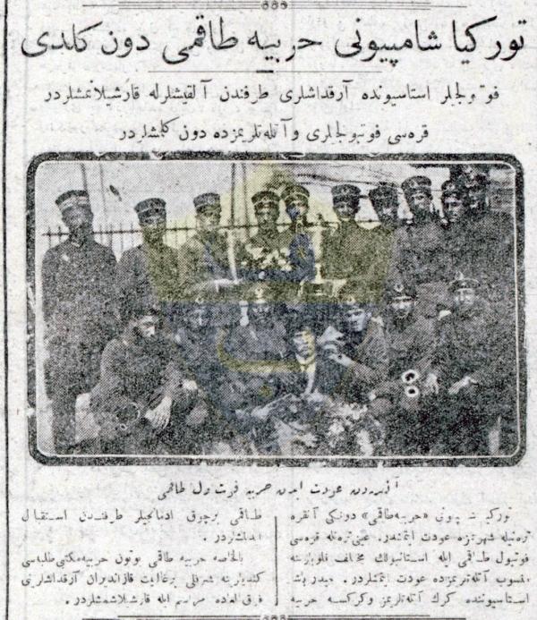 Türkiye'nin İlk Şampiyonu