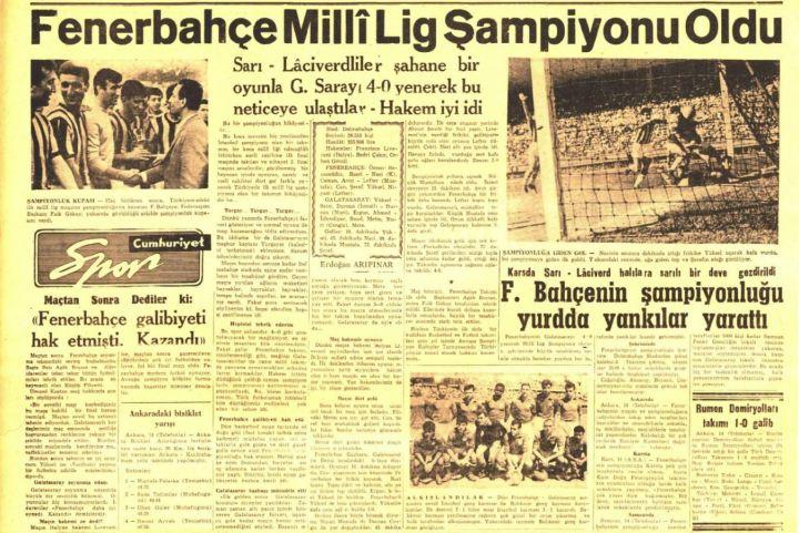 Şampiyonlar Şampiyonu Fenerbahçe