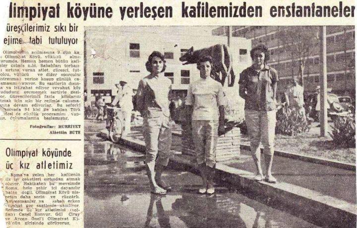 """Fenerbahçe'nin İlk """"Olimpik Kızı"""" Canel Konvur"""