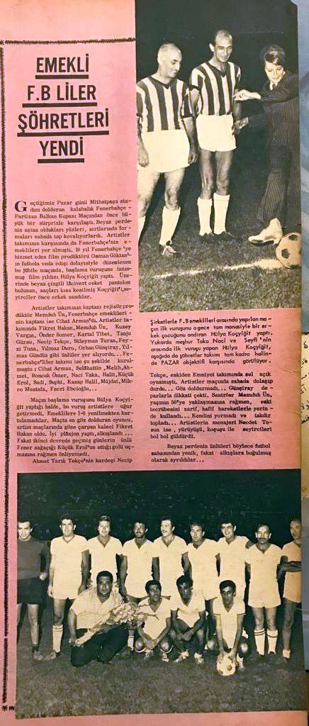 Emekli Fenerbahçeliler Şöhretleri Yendi
