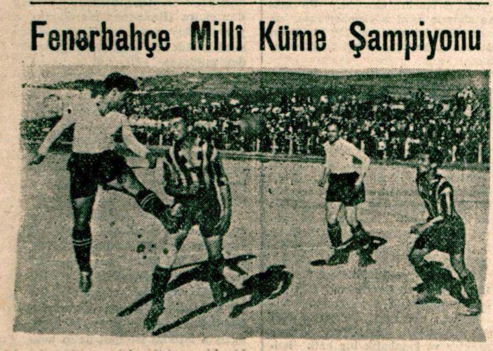 Fenerbahçe'nin Dördüncü Türkiye Şampiyonluğu