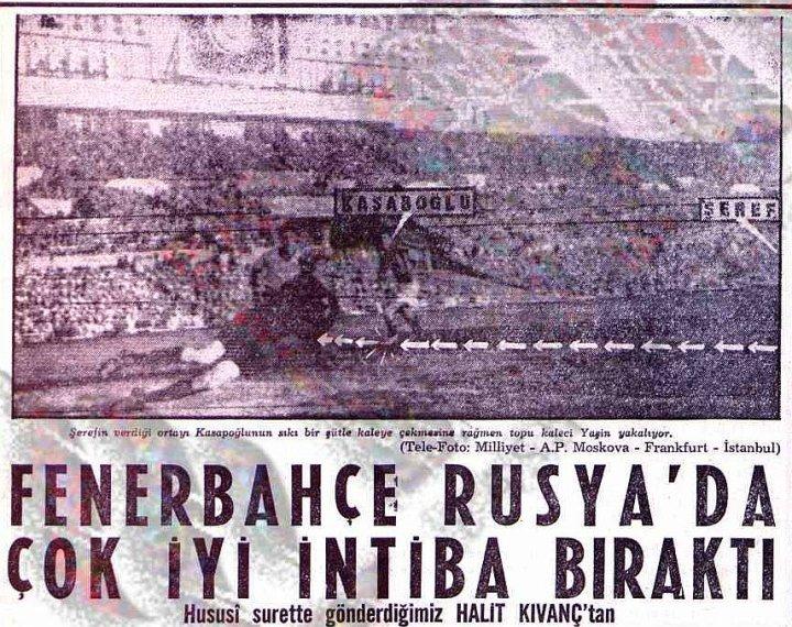 Fenerbahçe Rusya'da