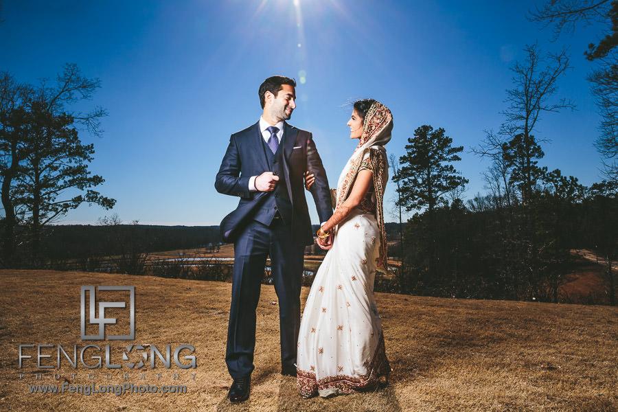 Atlanta Ismaili Indian Wedding - Nikkah Reception at Foxhall