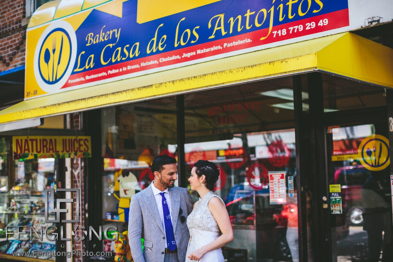 Jackson Heights Engagement PreWedding Photos