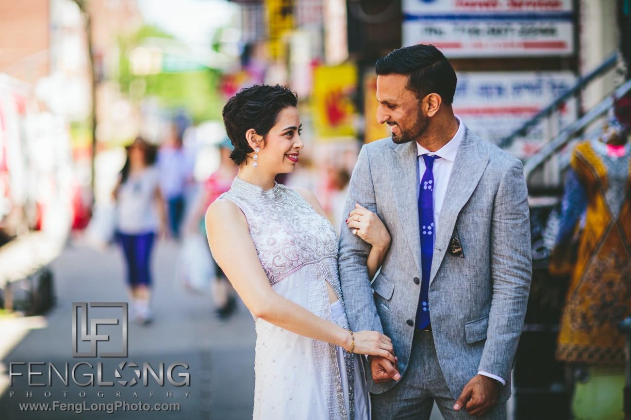 Jackson Heights Engagement PreWedding Photos