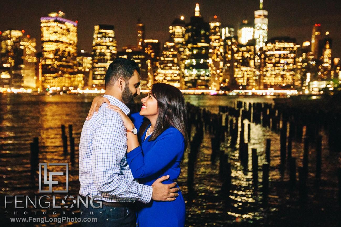 Brooklyn Bridge Engagement with Canon 5D Mark IV