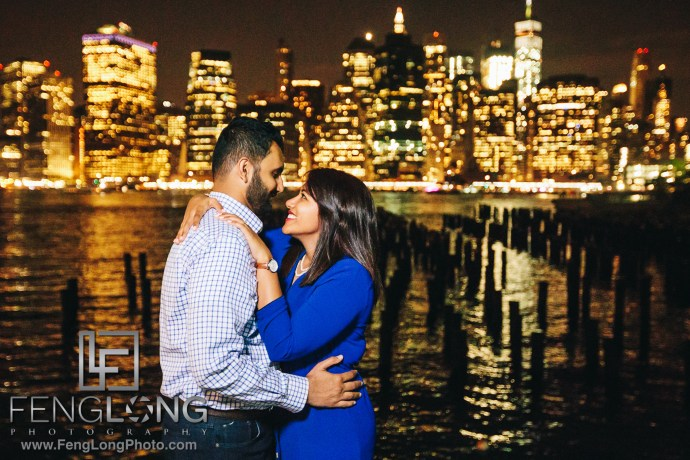 Brooklyn Bridge Engagement with Canon 5D Mark IV