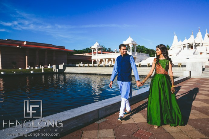 Atlanta BAPS Mandir Indian Wedding Photography