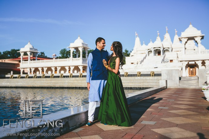 Atlanta Ismaili Indian Wedding BAPS Shri Swaminarayan Mandir