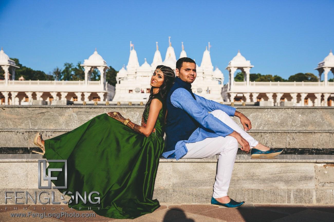 Atlanta Ismaili Indian Wedding BAPS Shri Swaminarayan Mandir
