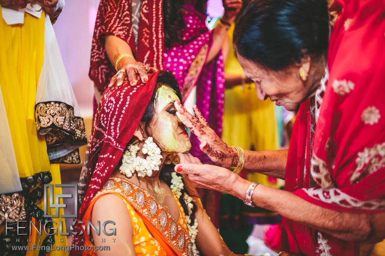 Atlanta Ismaili Indian Wedding Pithi Sangeet at Al-Noor