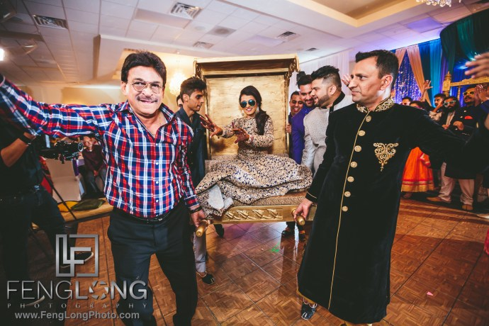Atlanta Ismaili Indian Wedding Pithi Sangeet at Al-Noor