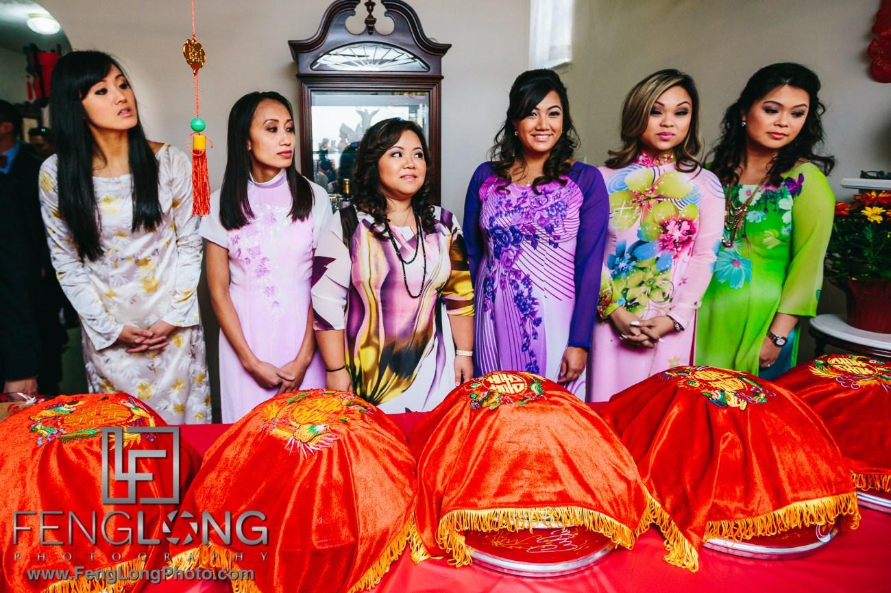 Atlanta Vietnamese Wedding Tea Ceremony