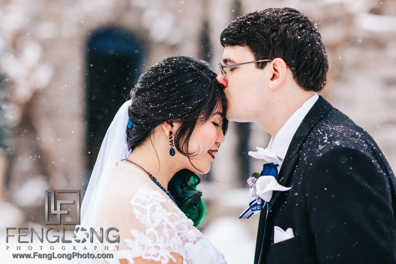 Upstate New York Chinese Winter Wedding