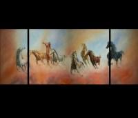 Horse Artwork Canvas Prints Contemporary Art Modern Wall ...