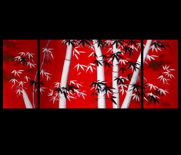 Japanese Bamboo Wall Art