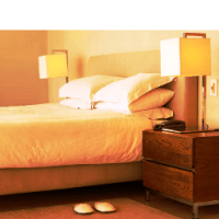 Feng Shui chambre à coucher, harmonie, bien-être.