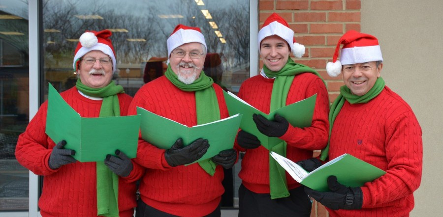 Christmas Caroling Singing relieves stress at the holidays feng shui tips