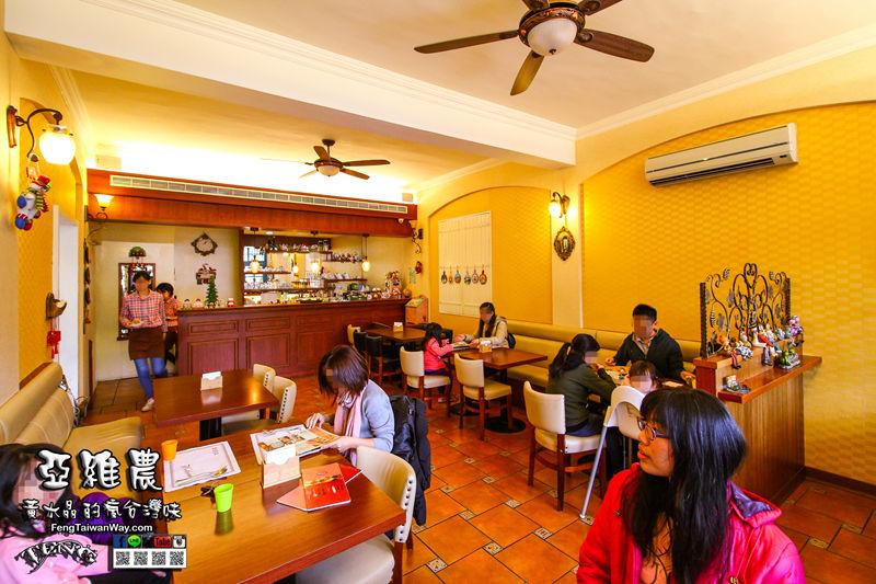 亞維農義大利麵/焗烤/小火鍋【八德美食】|桃園八德都市裡的小型綠化景觀咖啡廳 @黃水晶的瘋台灣味