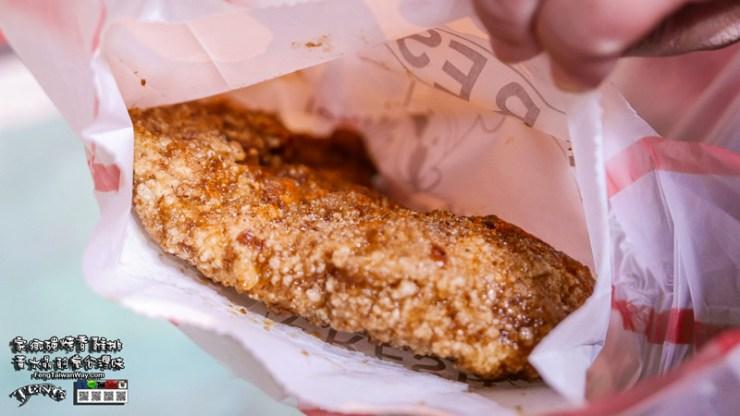 家鄉碳烤香雞排【士林美食】|台北士林夜市人氣排隊小吃;鹹甜醬汁,先炸後烤鎖住雞汁。 @黃水晶的瘋台灣味