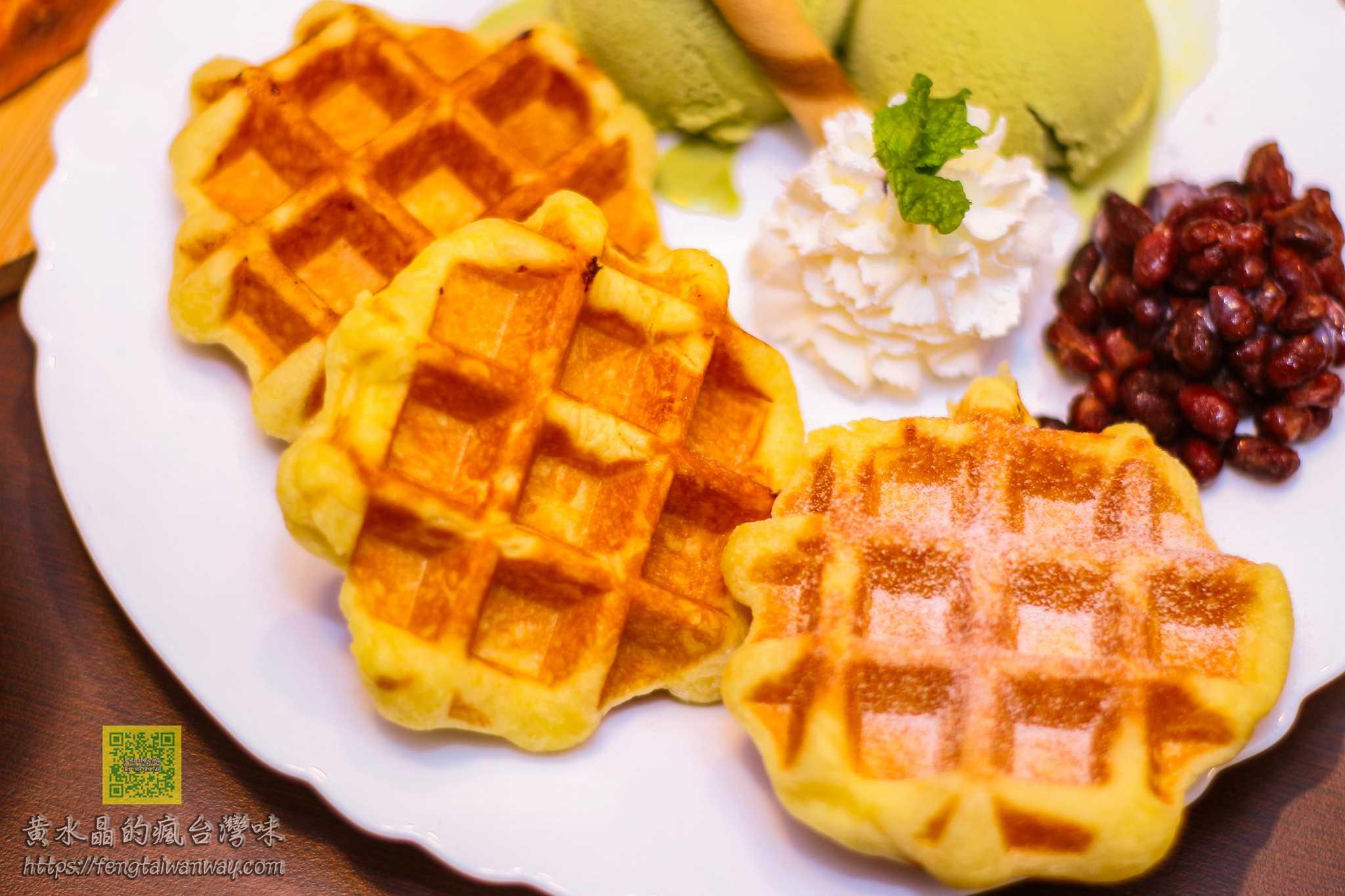 POPPY Waffle比利時烈日鬆餅莊敬店【桃園鬆餅】|莊敬國小門口巷弄內口感Q彈紮實的隱藏版鬆餅店 @黃水晶的瘋台灣味