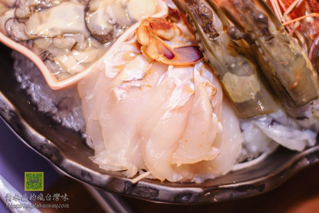 go鱻海鮮涮涮鍋【八德美食】|八德超人氣野生海鮮火鍋專賣店推薦;老闆龜毛的堅持只給最新鮮的海鮮食材 @黃水晶的瘋台灣味