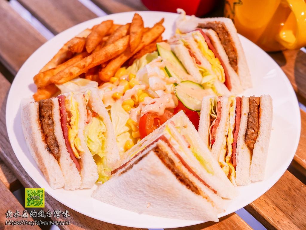 西雅图早午餐【桃园美食】|套餐高CP值人气早午餐;现点现做不使用重组肉;上班族还可LINE点餐 @黄水晶的疯台湾味