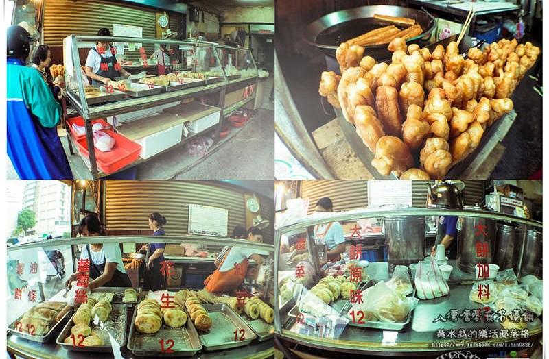 八德僑愛無名人氣燒餅【八德美食】 老字號排隊燒餅早餐店;一天賣出1400片燒餅,馬祖大餅也要嚐嚐 @黃水晶的瘋台灣味
