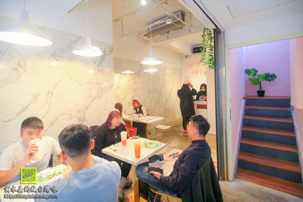BFF Gossip Brunch早午餐公館店【台北美食】|台大公館商圈閨密必訪的好吃視覺系星空牛排;預約制網美餐廳推薦 @黃水晶的瘋台灣味