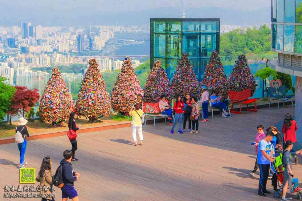 南山首爾塔【韓國景點】|首爾情侶必遊景點;千頌伊&都敏俊「來自星星的你」韓劇場景 @黃水晶的瘋台灣味