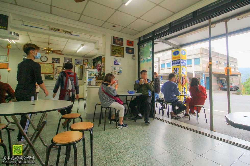 建華冰店【宜蘭冰店】|南澳高人氣必吃古早味冰店;台九丁公路上的休息站;傳道冰必點 @黃水晶的瘋台灣味
