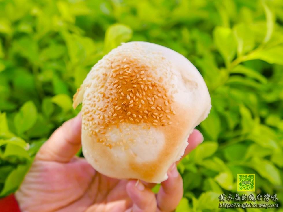 後街燒餅【桃園美食】|龜山陸光二村眷村美食;老麵加上大量青蔥的現做大燒餅(蔥燒餅)必吃 @黃水晶的瘋台灣味