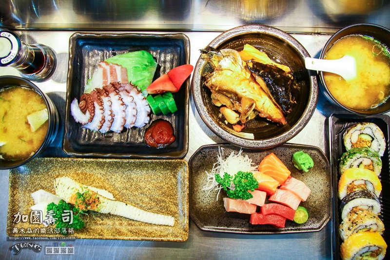 加園壽司【基隆美食】|基隆市仁愛區仁愛市場老饕級的日本料理;別再說美食在基隆廟口了。 @黃水晶的瘋台灣味