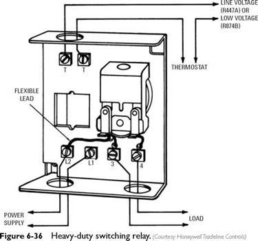 24 Volt Thermostat Wiring 120 Volt Thermostat Wiring