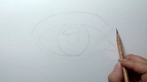 Как нарисовать глаз карандашом? Шаг первый. Портреты карандашом - Fenlin.ru