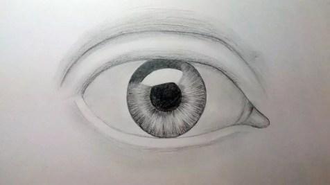 Как нарисовать глаз карандашом? Шаг пятый. Портреты карандашом - Fenlin.ru