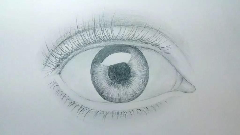 Как нарисовать глаз карандашом? Шаг седьмой. Портреты карандашом - Fenlin.ru