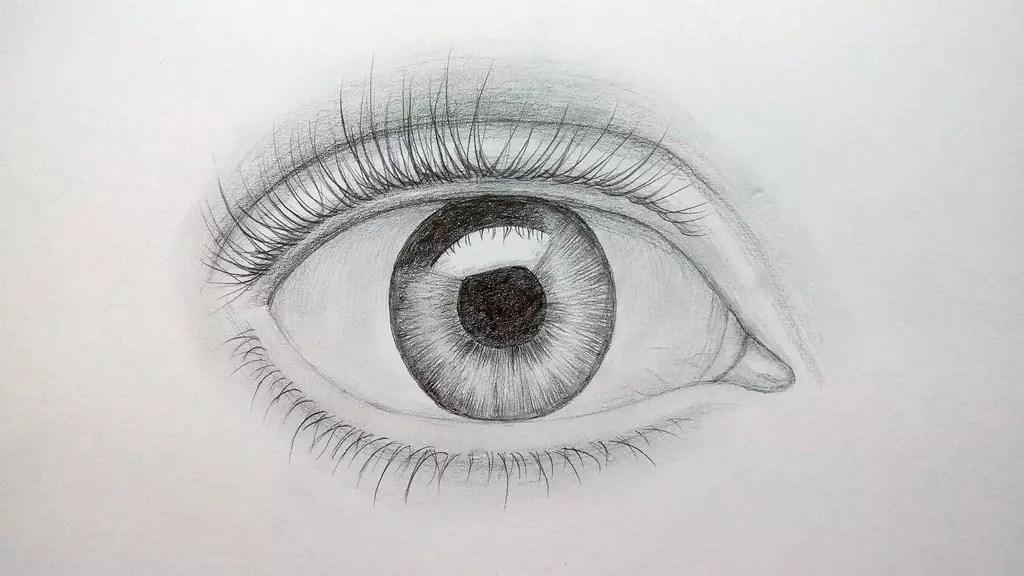Как нарисовать глаз карандашом? Шаг восьмой. Портреты карандашом - Fenlin.ru